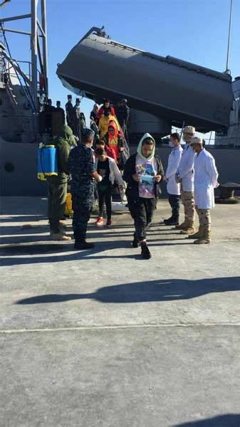 In Photos: Egypt's navy rescues passenger boat flying ...