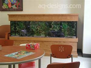 125 Gallon Aquarium With Custom Built Stand And Canopy At