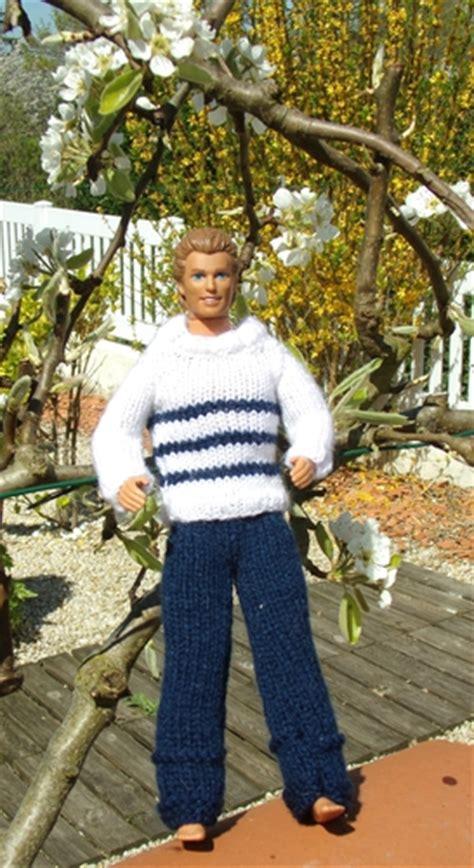 pull  pantalon ken passion creative crochet tricot