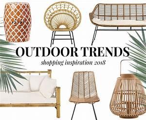 Outdoor Möbel Rattan : die besten outdoor trends 2018 shopping inspiration ~ Markanthonyermac.com Haus und Dekorationen