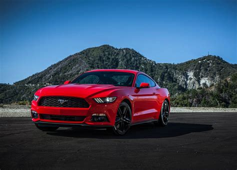 ford mustang european pricing announced  liter