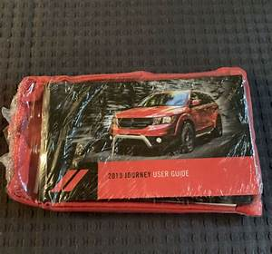 2019 Dodge Journey Factory Owner Owners Manual User Guide