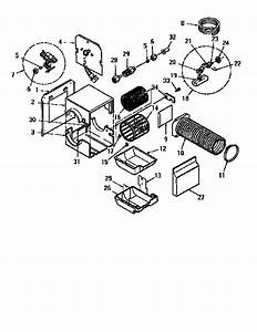 Kenmore Model 303936613 Humidifier Genuine Parts
