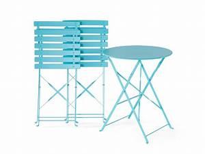 Tisch Mit 2 Stühlen : gartenm bel blau balkonm bel terrassenm bel tisch mit 2 st hlen fiori ~ Indierocktalk.com Haus und Dekorationen