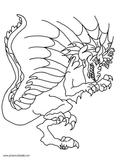 malvorlage wart der drache kostenlose ausmalbilder zum