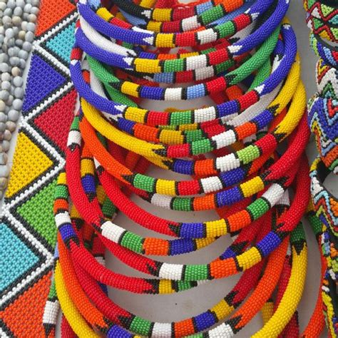 assorted traditional zulu beaded necklace price