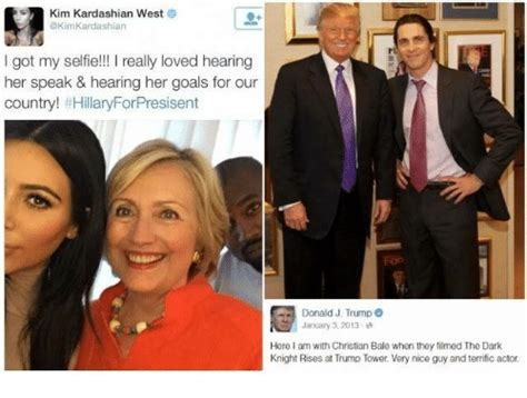 Kim And Trump Memes - kim kardashian west akimkardashian got my selfie i really loved hearing her speak hearing
