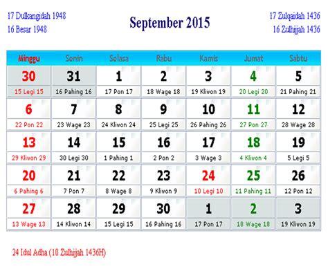 kalender  bulan hari libur nasional cuti bersama