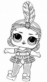 Lol Coloring Dolls Pages sketch template