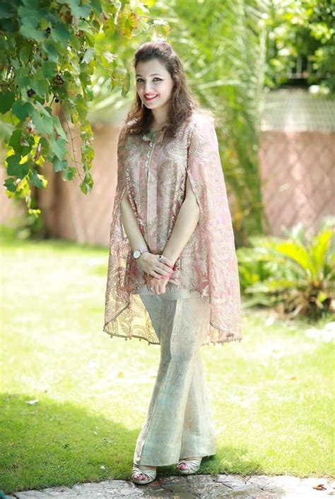 latest pakistani cape style dresses   designer