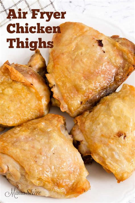 chicken fryer air recipe keto thighs fried mamashire meals recipes