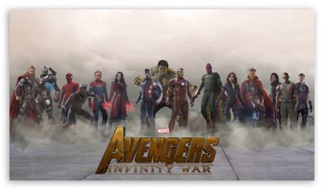 Avengers Infinity War 2018 Movie Fan Art 4K HD Desktop