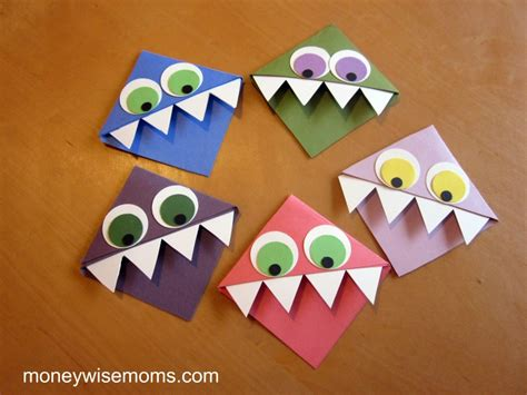 quick  easy crafts  kids  give moneywise moms