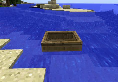 boat  minecraft minecraft information