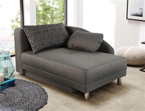 Recamiere 149x90 Cm Braun Ottomane Schlafsofa Couch Sofa