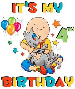 Caillou Birthday
