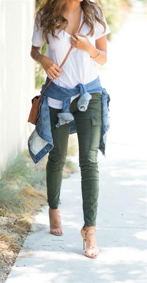 idees pour quoi mettre avec  pantalon kaki