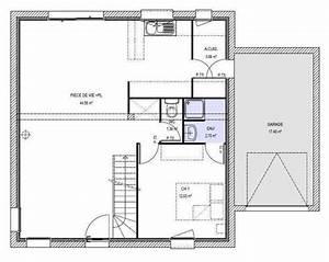 plan maison 110m2 etage With plan maison etage 100m2 0 plan de maison rectangulaire avec etage