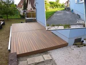 bois composite terrasse ma terrasse With photos terrasse bois composite