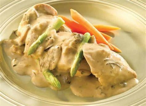 cuisiner filet de poulet filet de poulet sauce boursin au cookeo délicieux plat