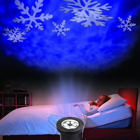 snow projector light moving outdoor led snowflake laser light projector l