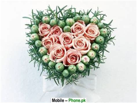 guldasta flowers heart wallpapers mobile pics