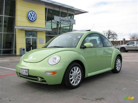 green volkswagen beetle 2004 cyber green metallic volkswagen new beetle gls tdi