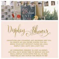 Baby Shower Without - display baby shower we enclosed these notes with our