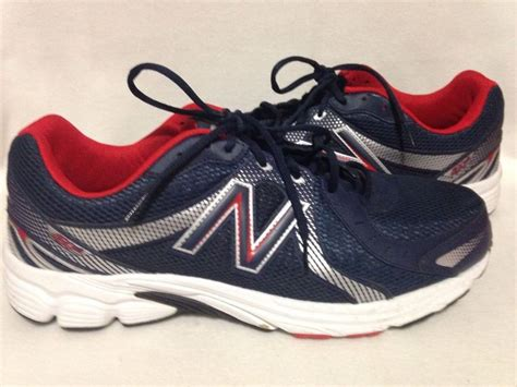 New Balance Red White Blue 450v3 Mens Running Shoes Size