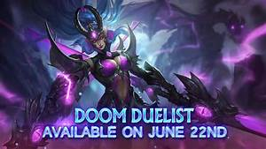 Epic Skin Karina Doom Duelist Arrived In Mobile Legends