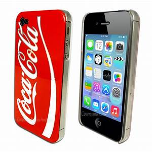 Coca Cola Red Hard Back Cover for Apple iPhone 4S 4 ...