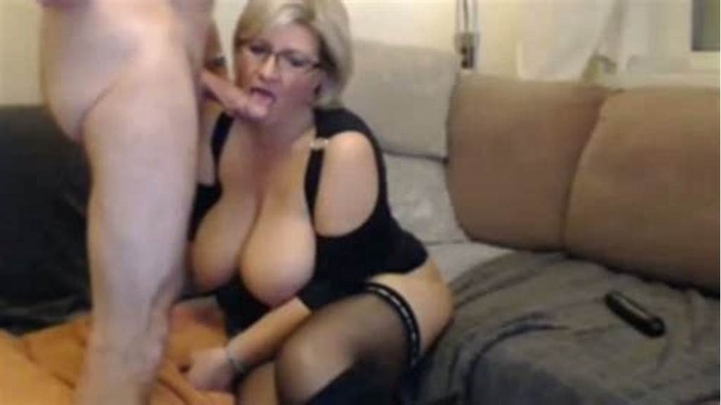#Short #Haired #Blonde #Milf #With #Big #Boobies #Loves #Being