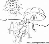 Vacation Coloring Pages Adult Vacation5 Colorpagesformom Coloringpages sketch template