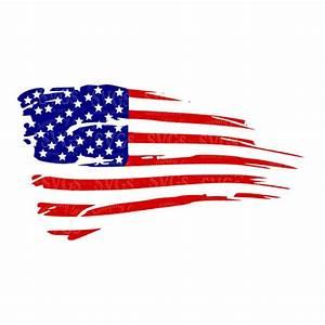 Distressed American Flag svg US Flag svg Flag Decor Patriotic