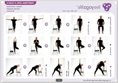 Chair Yoga Sequences