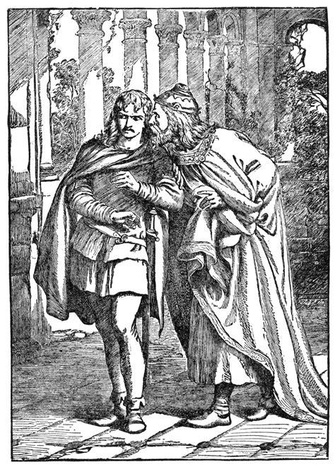 claudius  laertes clipart