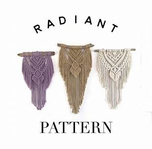 Macrame Pattern For Wall Hanging