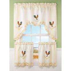 sears rooster kitchen curtains rooster chicken curtains from sears