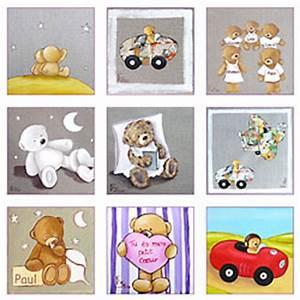 Tableau Pour Chambre Bébé : tableau pour chambre bebe pas cher visuel 4 ~ Teatrodelosmanantiales.com Idées de Décoration