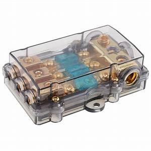 12v 60a Plastic Car Audio Power Fuse Holder Fuse Box Auto