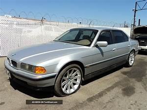 1996 Bmw 740il Base Sedan 4