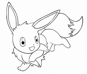 Pokemon Pictures Of Eevee - Coloring Home