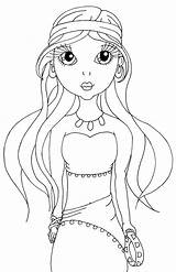Gypsy Coloring Pages Lady Mirabel Cuddlebug Cuties Sweetheart Template sketch template