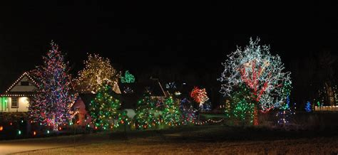 a need to create trail of lights chatfield aboretum