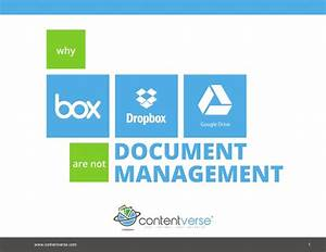 why box dropbox and google drive are not document management With google drive document management system