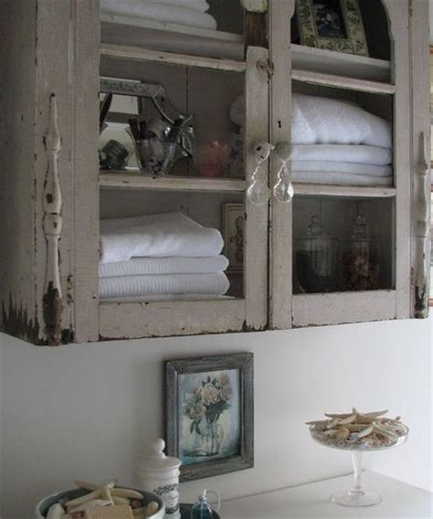 shabby chic bathroom cabinet shabby chic bathroom cabinet for the home pinterest