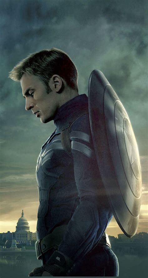 steve rogers    parallax wallpapers