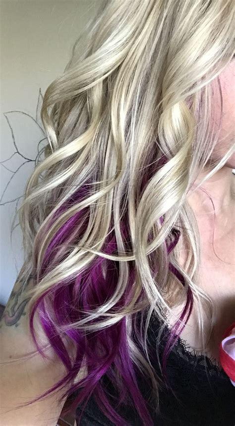 Best 25 Purple Blonde Hair Ideas On Pinterest Plum