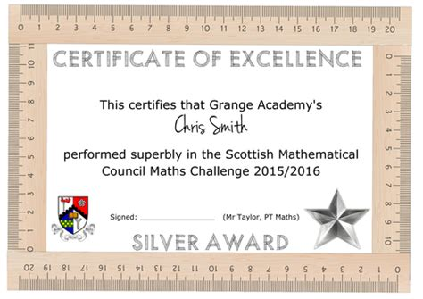 maths certificate template  aap teaching resources