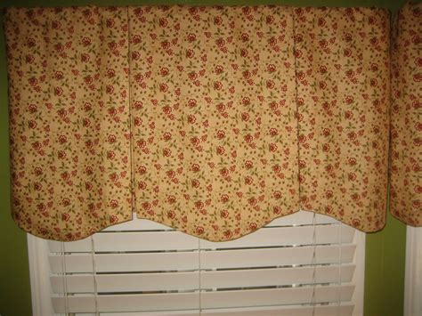 Box Valance For Sale by Scalloped Box Pleat Valance Sewing Projects Burdastyle